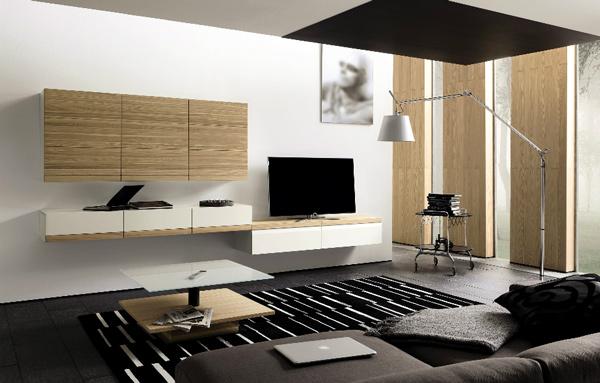 mẫu kệ tivi phòng khách hiện đại 15
