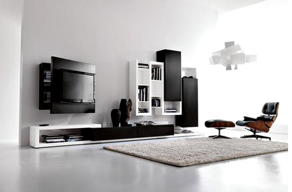 mẫu kệ tivi phòng khách hiện đại 18