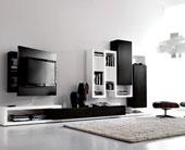 23 Mẫu kệ tivi đẹp trong phòng khách hiện đại