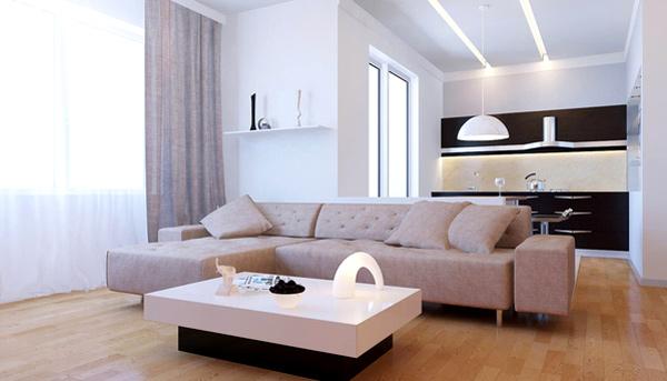 mẫu kệ tivi phòng khách hiện đại 2