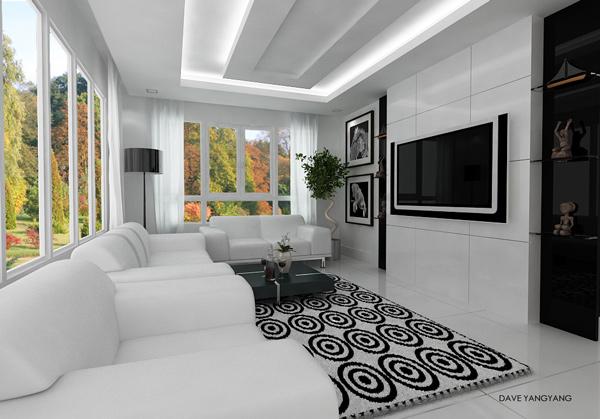 mẫu kệ tivi phòng khách hiện đại 9