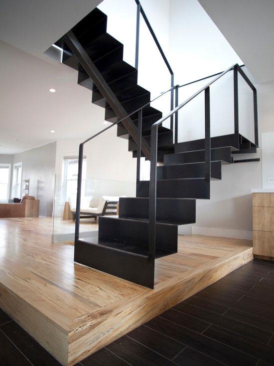 cầu thang phòng khách đẹp 10
