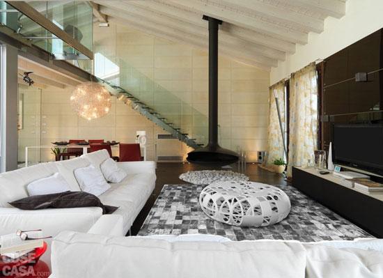 cầu thang phòng khách đẹp 15