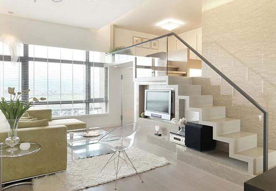 cầu thang phòng khách đẹp 6