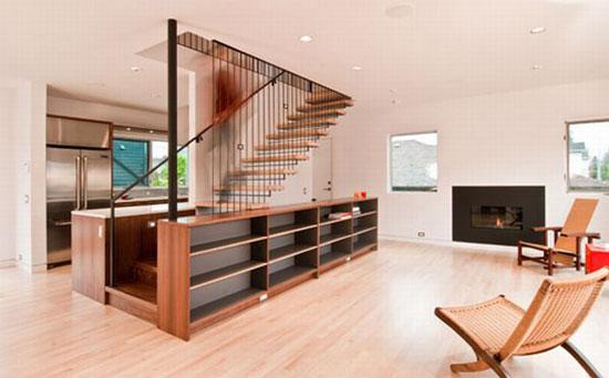 cầu thang phòng khách đẹp 7