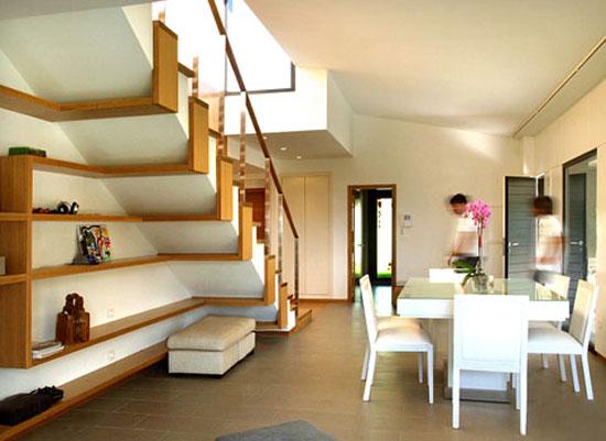 cầu thang phòng khách đẹp 8