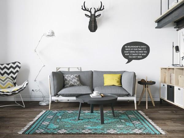 mẫu phòng khách scandinavian 20