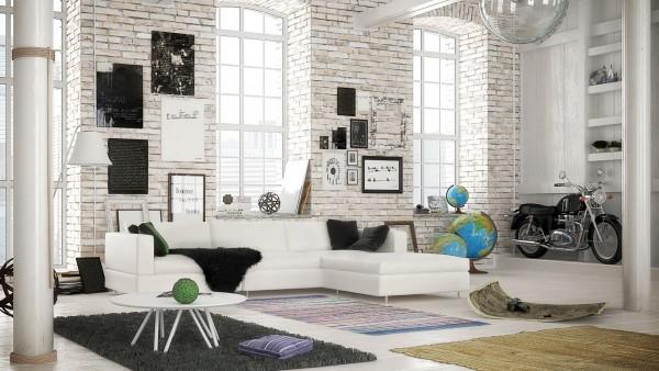 mẫu phòng khách scandinavian 21