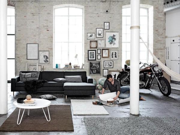 mẫu phòng khách scandinavian 33