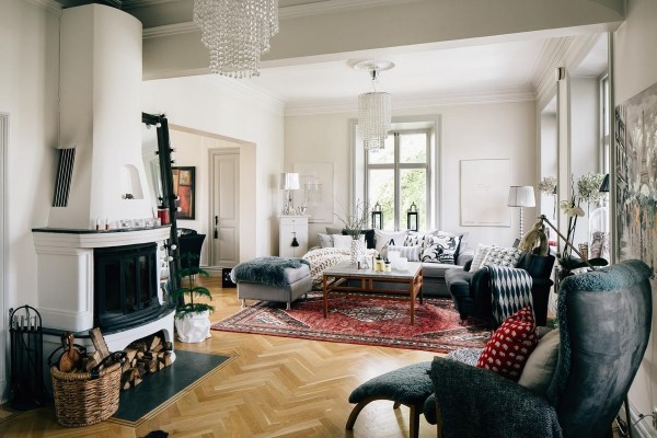 mẫu phòng khách scandinavian 37