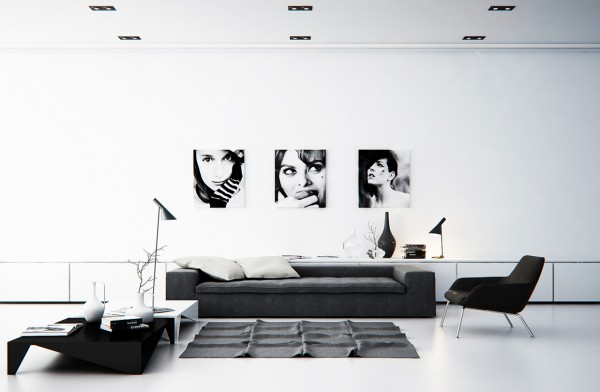 mẫu phòng khách scandinavian 43