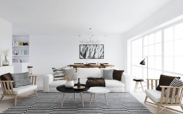 mẫu phòng khách scandinavian 44