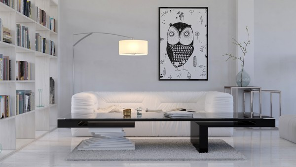 mẫu phòng khách scandinavian 45