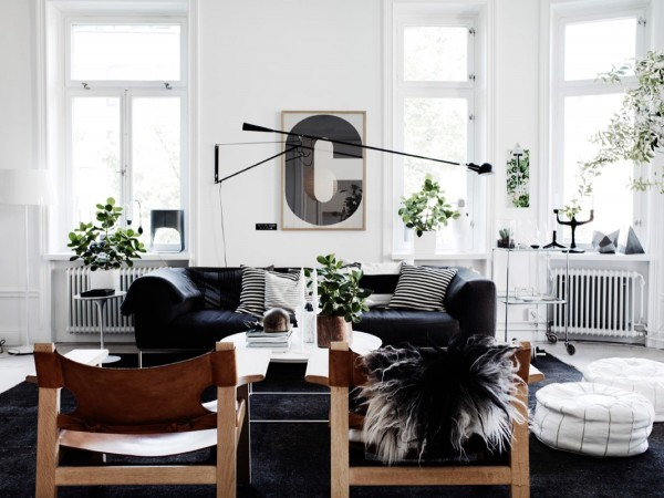 mẫu phòng khách scandinavian 8