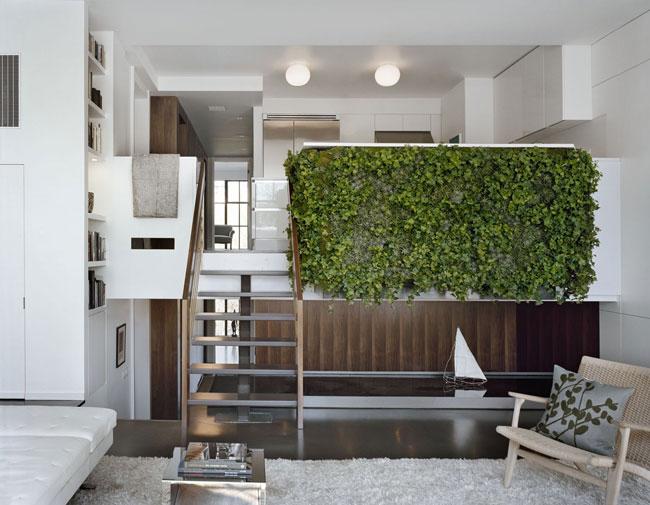 thiết kế phòng khách có gác lửng 5