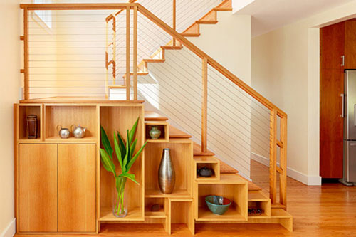 thiết kế gầm cầu thang đẹp 10