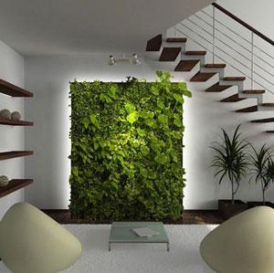 Giải pháp cho gầm cầu thang phòng khách