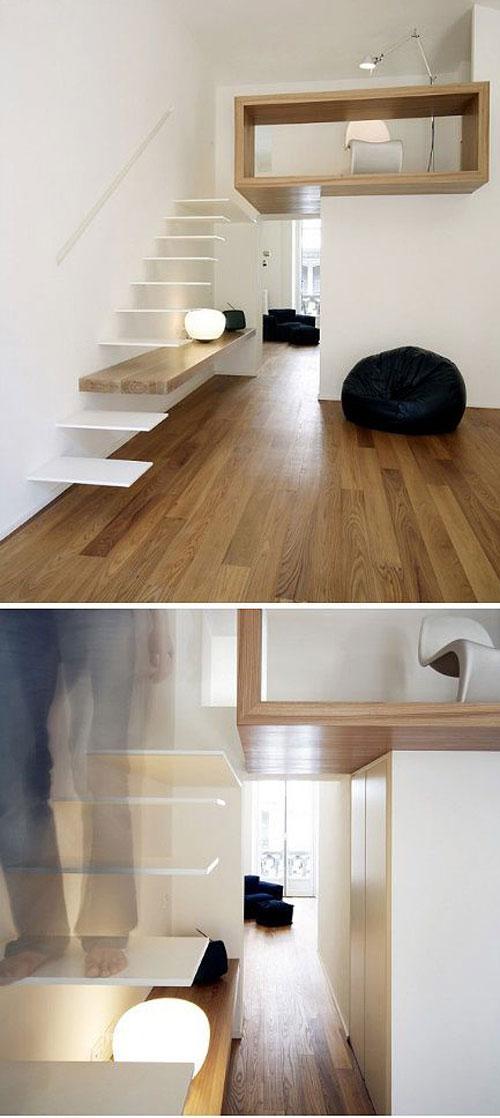 thiết kế gầm cầu thang đẹp 17