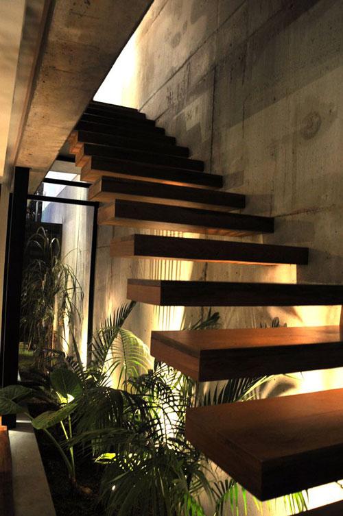 thiết kế gầm cầu thang đẹp 4