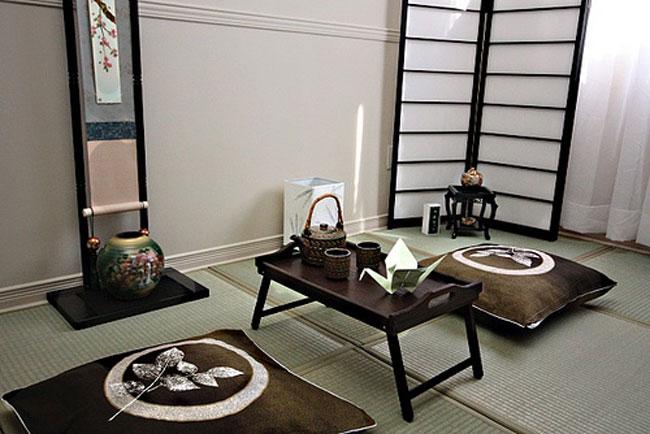 phòng khách kiểu Nhật 10