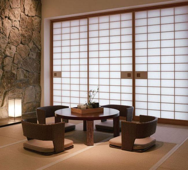 phòng khách kiểu Nhật 11