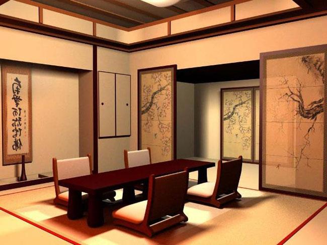 phòng khách kiểu Nhật 12
