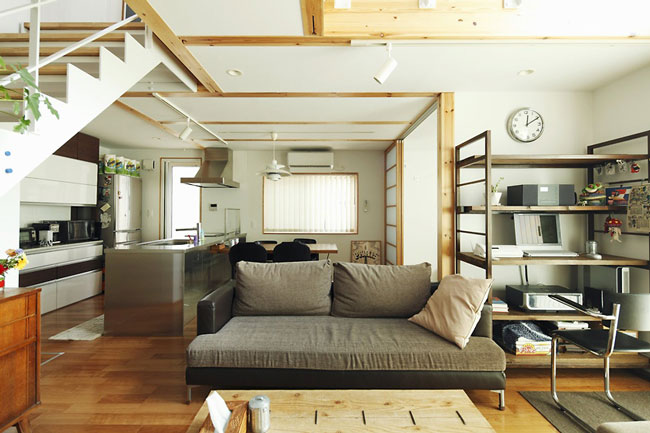 phòng khách kiểu Nhật 14