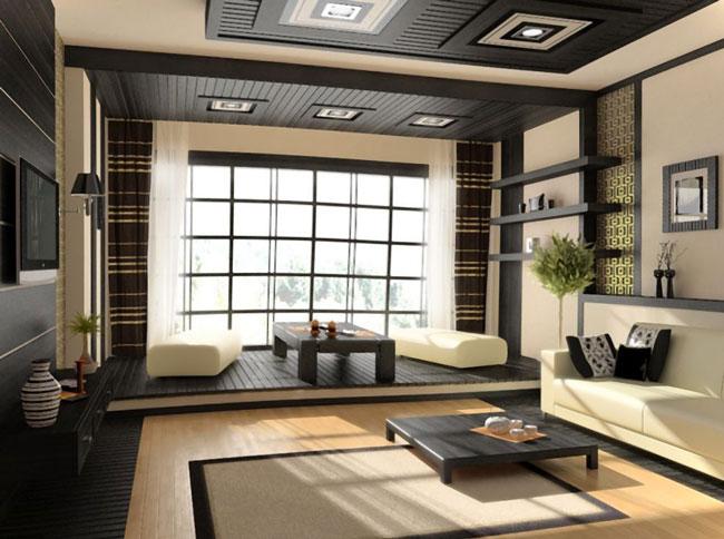 phòng khách kiểu Nhật 4