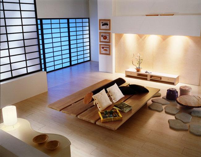 phòng khách kiểu Nhật 5