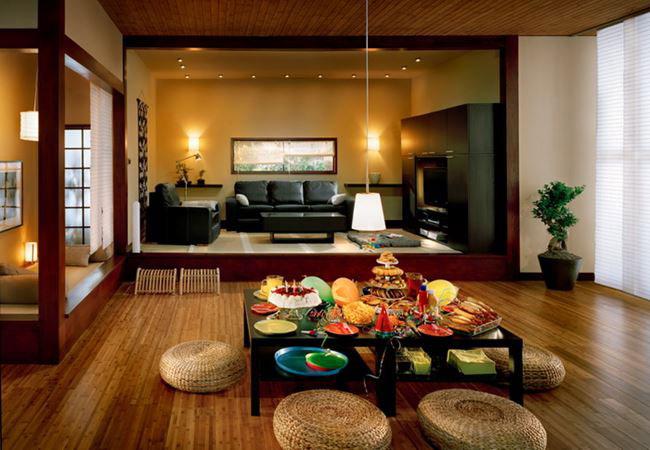 phòng khách kiểu Nhật 6