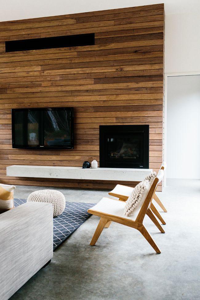 tường ốp gỗ phòng khách 7
