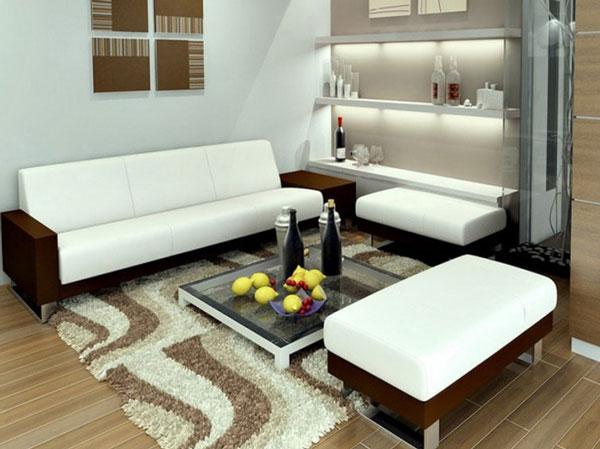 thiết kế phòng khách mini 2