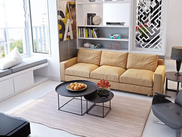 thiết kế phòng khách mini 3