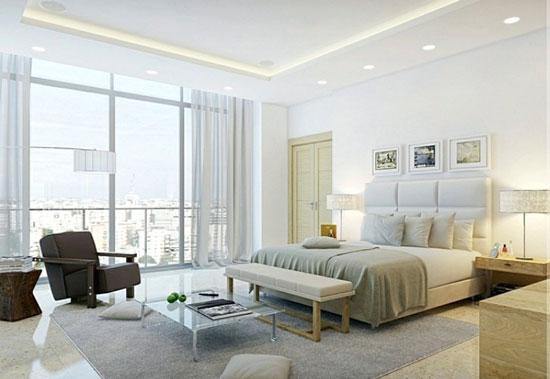 mẫu thiết kế phòng ngủ master 1