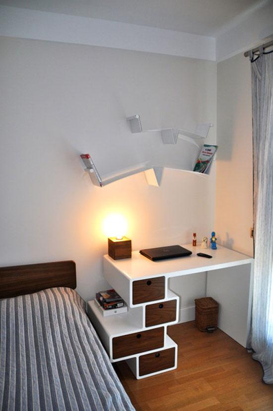 bàn làm việc trong phòng ngủ 16