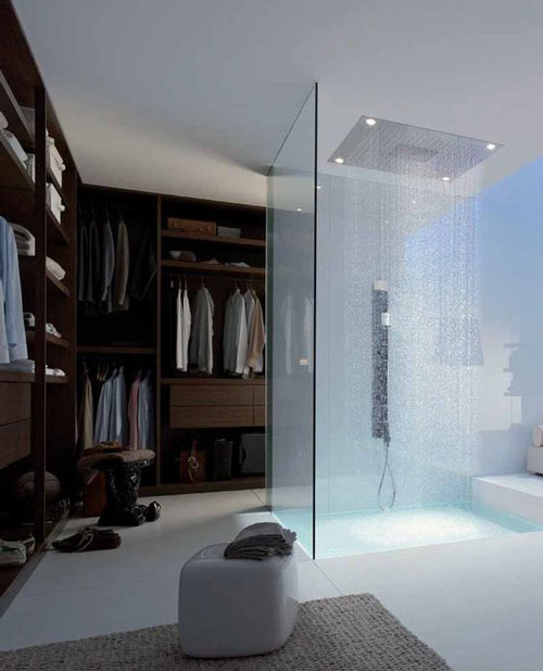 phòng thay đồ kết hợp phòng tắm 1