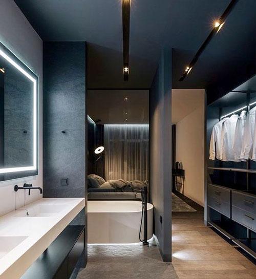 phòng thay đồ kết hợp phòng tắm 2