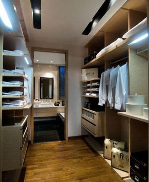 phòng thay đồ kết hợp phòng tắm 5