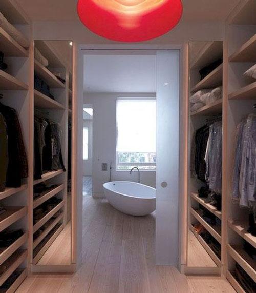 phòng thay đồ kết hợp phòng tắm 6