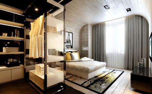mẫu phòng thay đồ trong phòng ngủ đơn giản 10