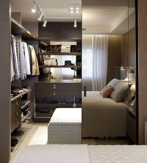 mẫu phòng thay đồ trong phòng ngủ đơn giản 12