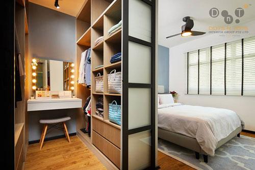 mẫu phòng thay đồ trong phòng ngủ đơn giản 14
