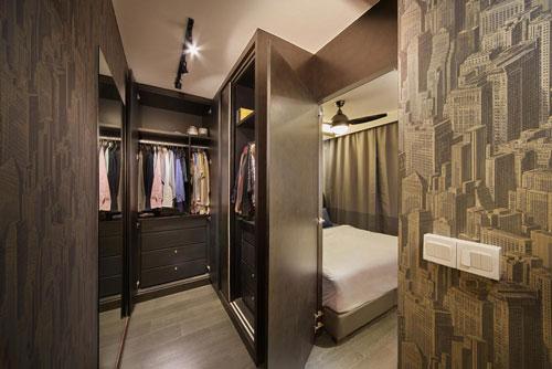 mẫu phòng thay đồ trong phòng ngủ đơn giản 15