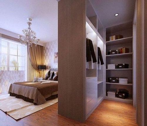 mẫu phòng thay đồ trong phòng ngủ đơn giản 17