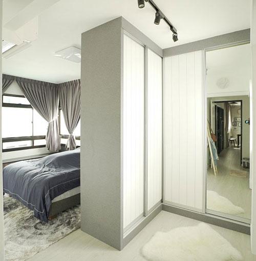 mẫu phòng thay đồ trong phòng ngủ đơn giản 18