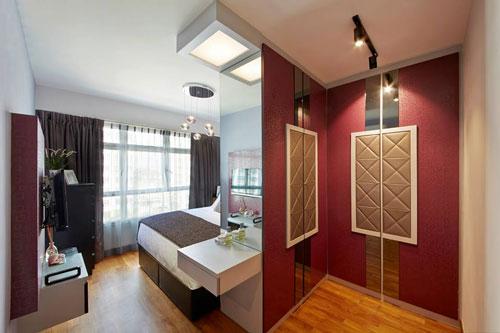 mẫu phòng thay đồ trong phòng ngủ đơn giản 19