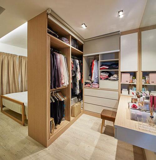 mẫu phòng thay đồ trong phòng ngủ đơn giản 20