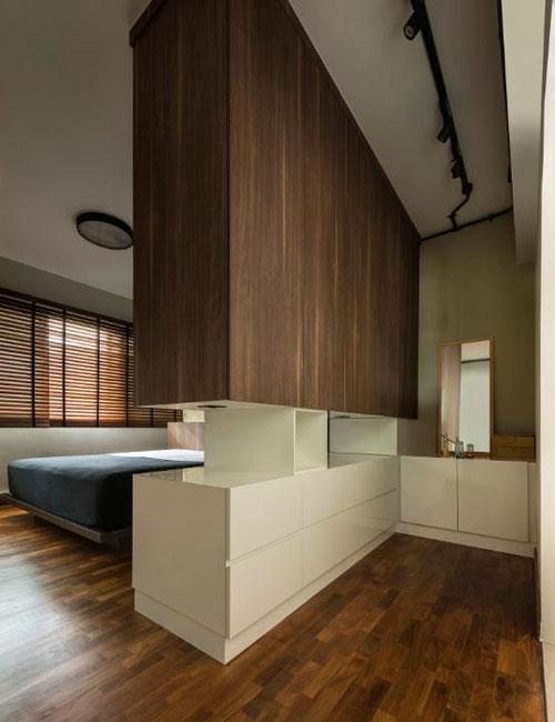 mẫu phòng thay đồ trong phòng ngủ đơn giản 23