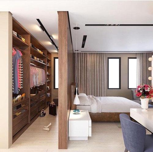mẫu phòng thay đồ trong phòng ngủ đơn giản 1