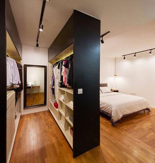 mẫu phòng thay đồ trong phòng ngủ đơn giản 8